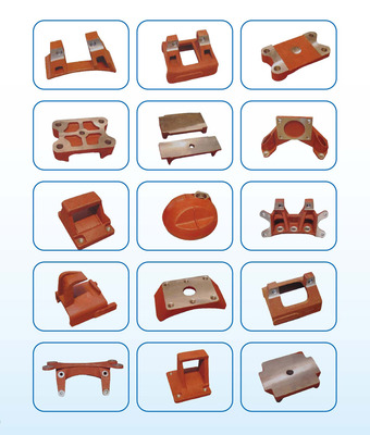 Series of cast steel products